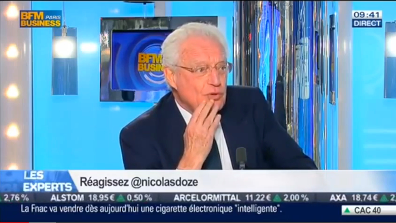 Charles Gave sur BFM Business – 11/04/2014