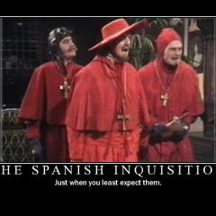 « Personne ne s'attend jamais à l' inquisition espagnole » ou quand Bernard Cazeneuve reprend la fourche d'hérétique