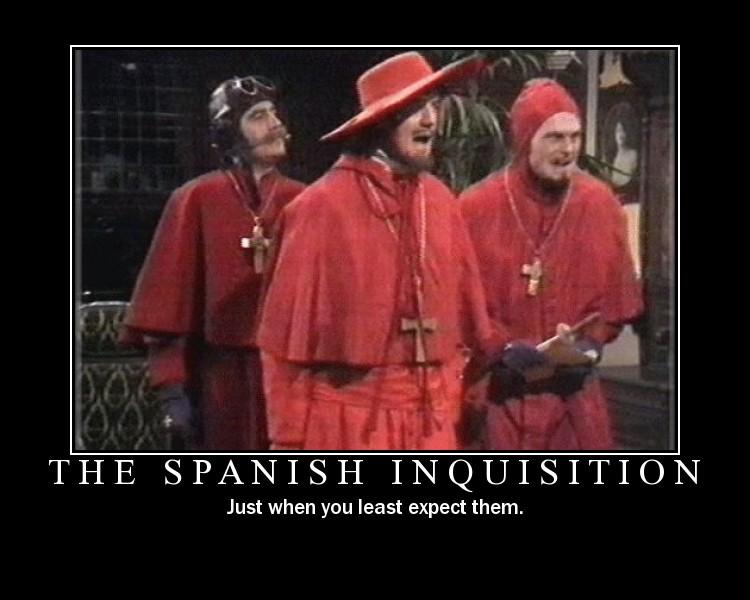 """Résultat de recherche d'images pour """"spanish inquisition"""""""