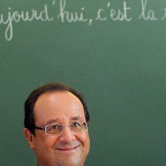 Pour avoir un pays bas, votez Hollande.