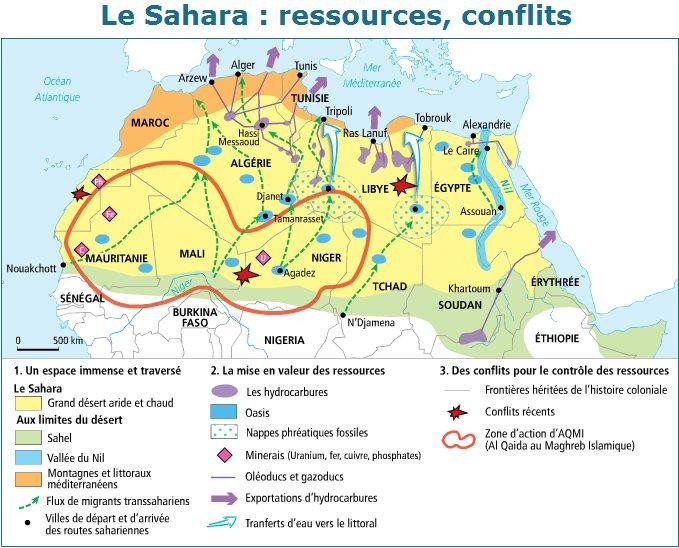 Le Sahara, un désert aux nombreux enjeux