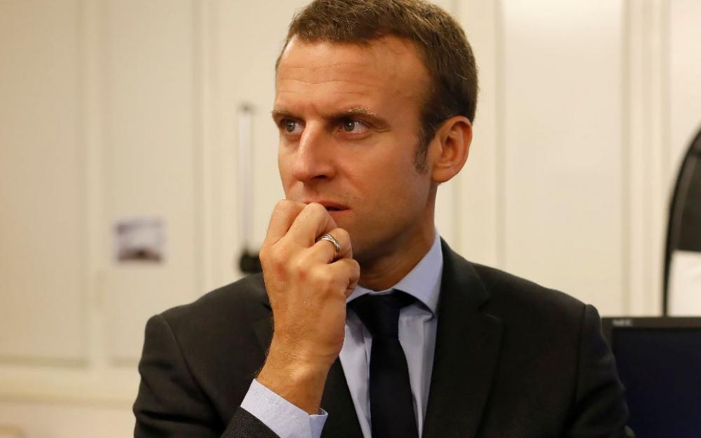 Le mouvement c'est Macron en marche …arrière