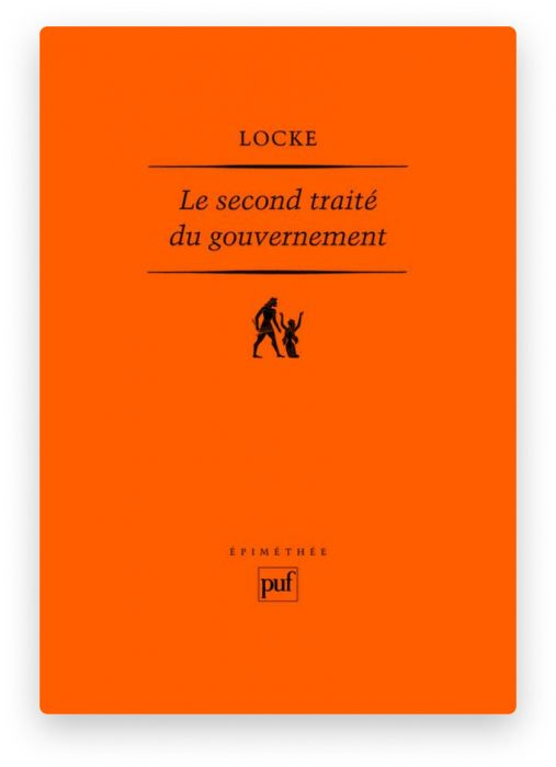 John Locke, Deuxième Traité du Gouvernement Civil1690