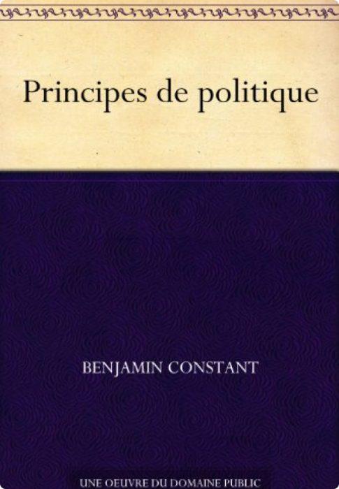 Benjamin Constant, Principes de Politique1815
